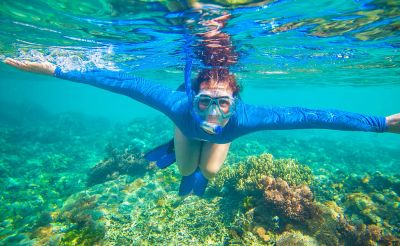 Snorkeling  at Havelock Island