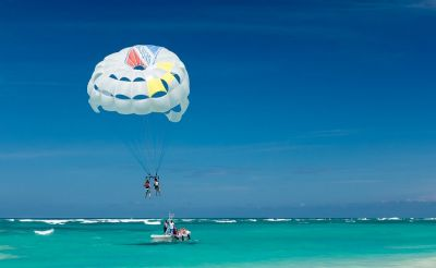 Parasailing at Havelock Island