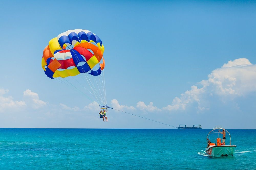 #8 of Top 10 Experiences by Travellers in The Andaman Islands: Parasailing