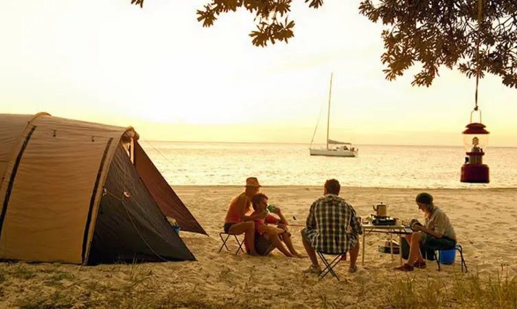 Sea, Sand & Stars: Beach Camping In Havelock Island